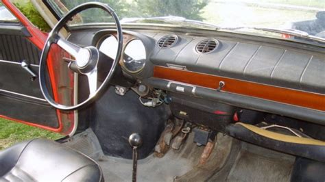Fiat 850 Interior by 1967 Fiat 850 Coupe Barn Find