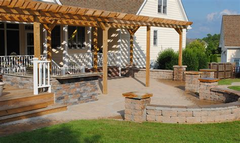 patios with pergolas arbors and pergolas southern touch landscaping