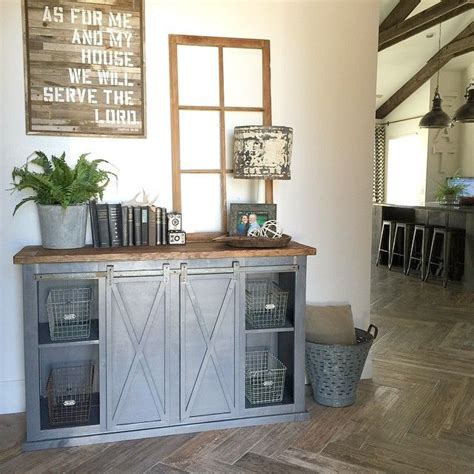barn door buffet table diy buffet cabinets for the dining room
