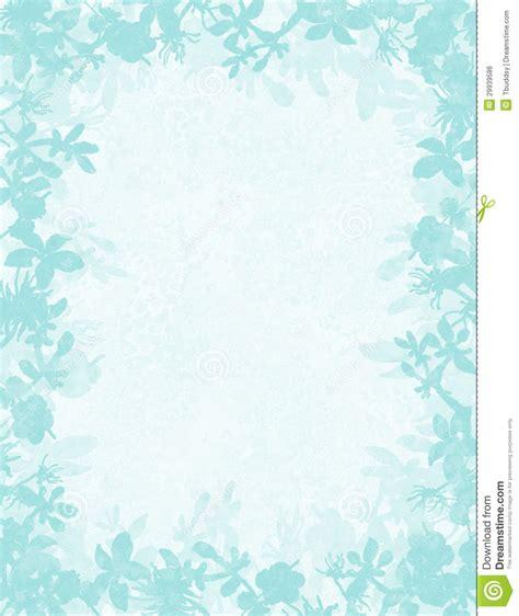 wedding invitation border designs aqua blue aqua floral grunge border stock illustration illustration of clip 29939586