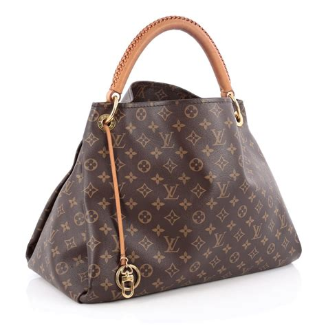 Would You Buy A Vuitton From This by Buy Louis Vuitton Artsy Handbag Monogram Canvas Mm Brown