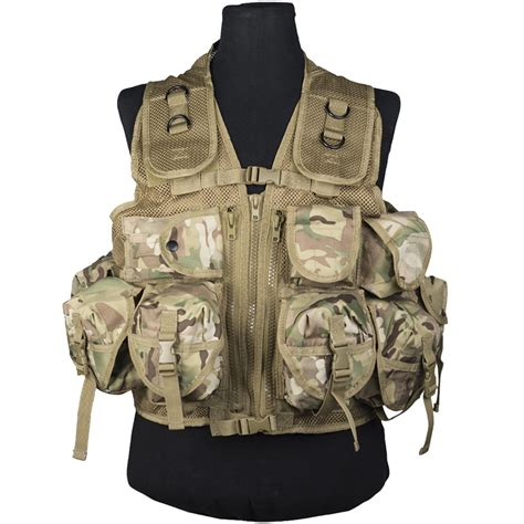 tactical assault gear vest mil tec ultimate assault vest multitarn vests 1st