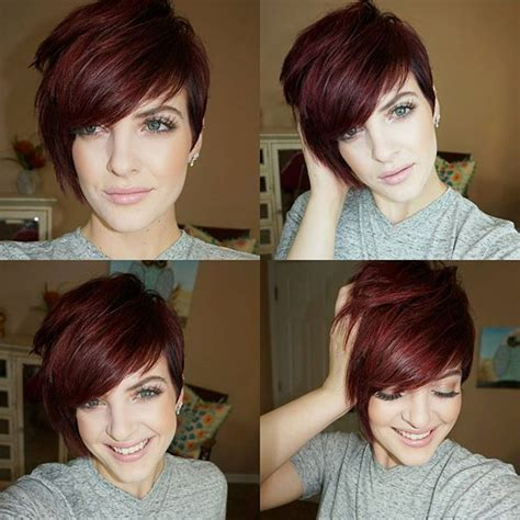 how to style a pixie to a fringe cut best 25 pixie long bangs ideas on pinterest pixie cut