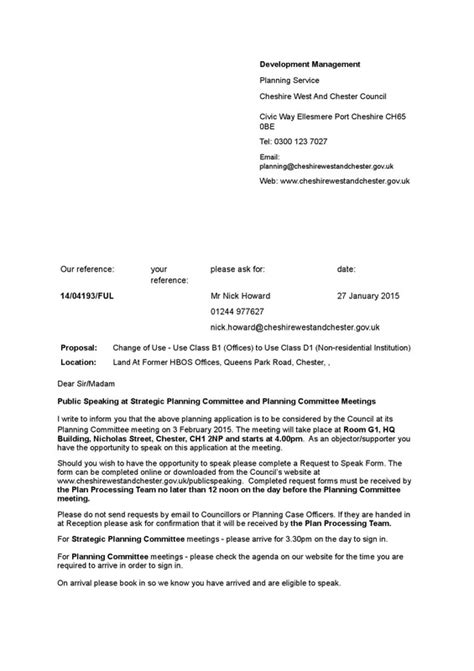 Official Letter Bank Details Hbos Bank Site Change Of Use Application Handbridge