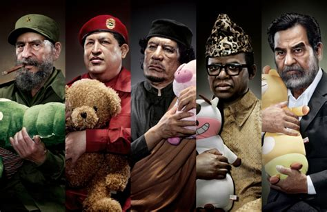 Infamous Dictators by Infamous Dictators Being Comforted By Stuffed Animals