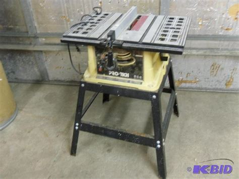 pro tech bench saw pro tech 10 quot table saw model hahn customs