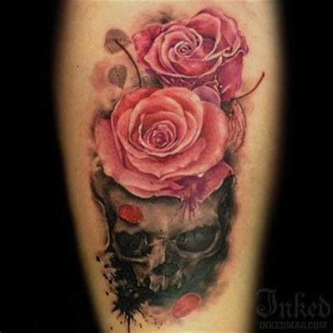 skulls n roses sick tattoos pinterest