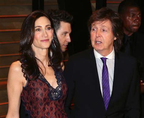 Was Paul Mccartney With Nancy Shevell by Paul Mccartney Postpones Start Of U S Tour Buzz