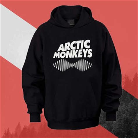 arctic monkeys logo hoodie sweatshirt from ijonkcloth on etsy