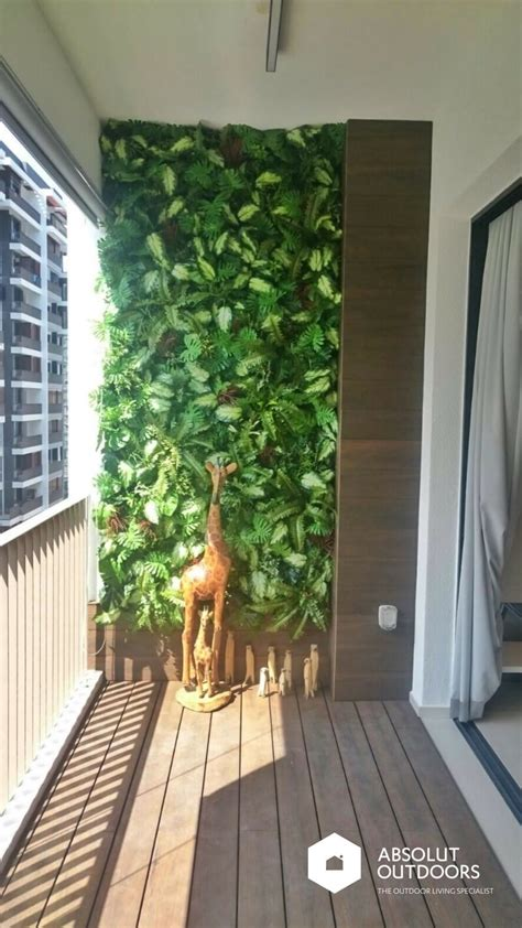 Seven Creative Ways To Use Wooden Decking Absolut Outdoors Balcony Wall Garden