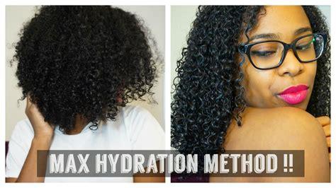 hydration for hair maximum hydration method for 4c hair the mane objective