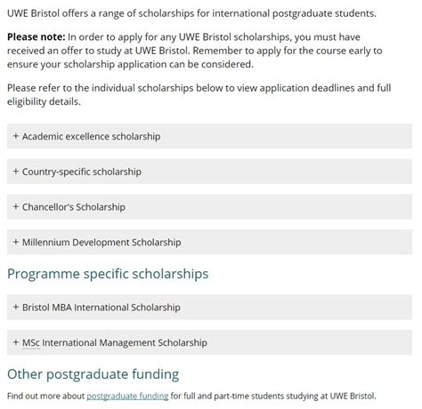 Uwe Mba Scholarship by Uwe Millennium Development Scholarship For International