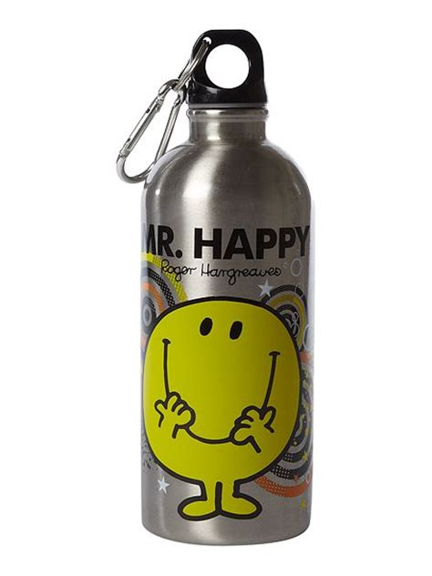 mr men mr happy water bottle house of fraser