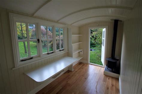 pictures of small homes interior 20141206sa shepherds hut wagon retreat tiny house interior