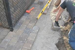 Installing Patio Pavers On Sand Paver Patio Installation How To Properly Install Your Paver Patio