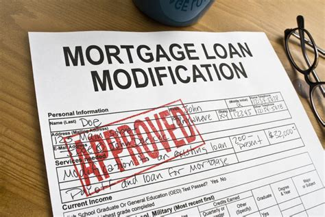 Modification For by Types Of Loan Modifications 5 Possibilities