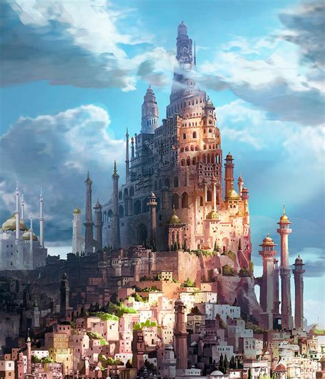 castles  robots  peter popken landscapes magick