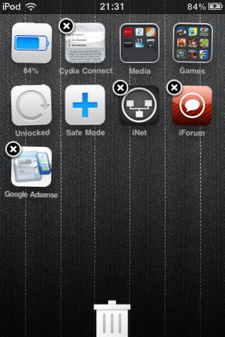 delete photos from android drag and drop to delete apps on your iphone or like android with this jailbreak tweak