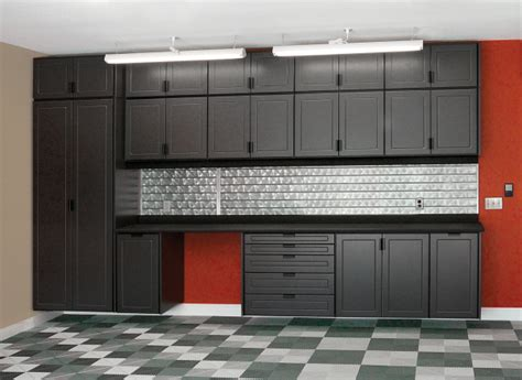 kitchen cabinets in garage garage cabinets in black custom cabinets houston