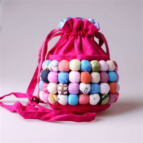 Handmade Cloth Purses - handmade national trend jelly portable mini messenger bag