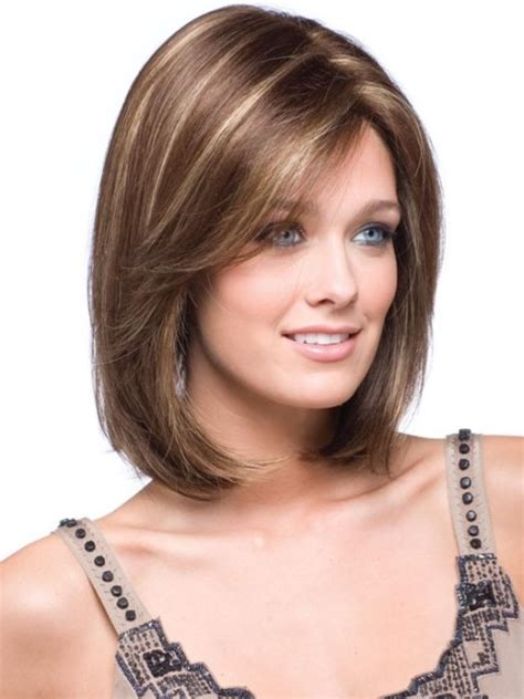 medium length hairstyle dor a squre jaw 16 latest medium length hairstyles for square faces wigs