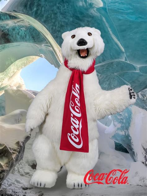 Wide Floor Plans guests can now meet the coca cola bear in disney springs