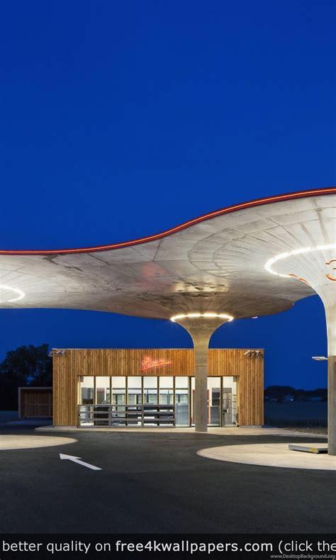 gas station  slovakia  wallpapers desktop background