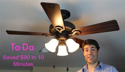 ceiling fans with lights repair ceiling fan light repair home repair tutor