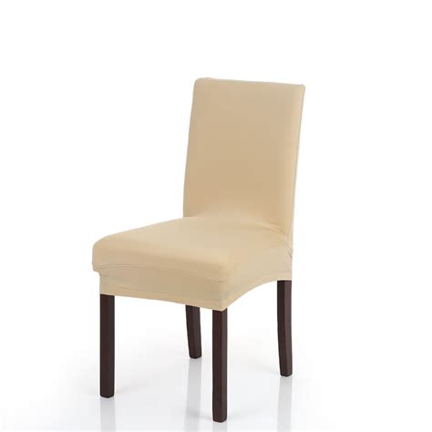 Washable Dining Chair Covers High Quality Stretch Removable Washable Dining Chair Cover Soft Milk Silk Spandex Chair