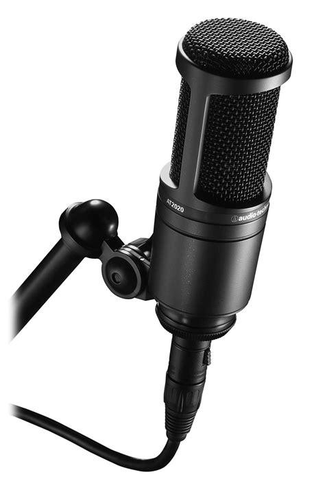 Audio Technica At2020 Cardioid Condenser Studio Microphone audio technica at2020 cardioid condenser microphone yamaha