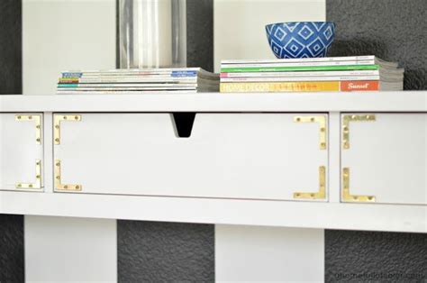 ikea console hack ikea hack caign inspired entryway table made from and