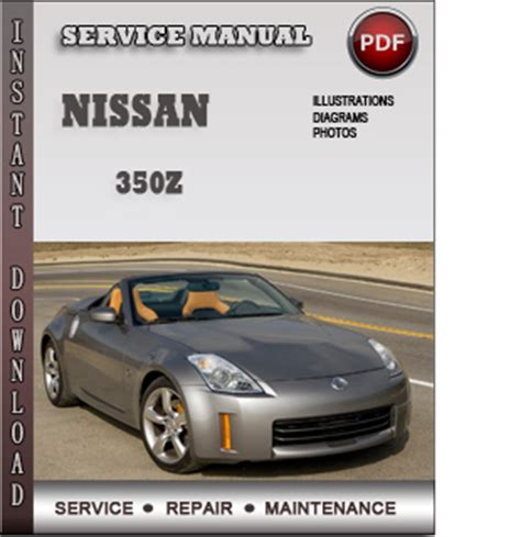 chilton car manuals free download 2005 nissan 350z instrument cluster nissan 350z service repair manual download info service manuals
