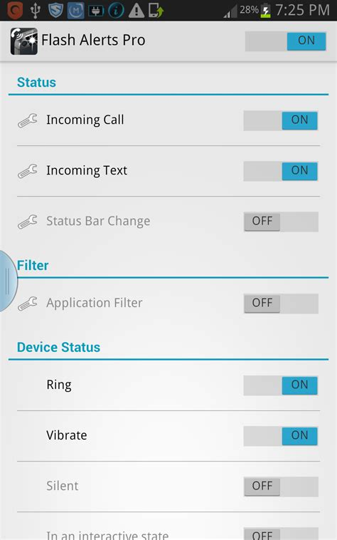 flash alerts pro apk ဥတ တ သ အ င နလင နည ပည flash alerts pro v2 0 2 apk