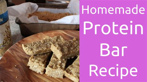 make homemade protein bars gnc live well the best homemade protein bar recipe live lean tv