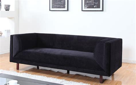 afa sofa black velvet sofa sloane crushed velvet 3 2 seater black