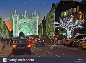 Car Light Bulbs Edinburgh Scottish Edinburgh Of Light Show In Road