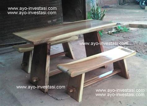 Meja Kayu Panjang Warung meja cafe dan meja rumah makan