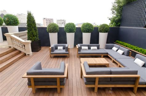 houzz patio terrace by weatherill contemporary patio