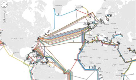undersea cable map submarine cable map charting your overseas