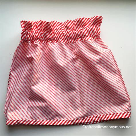 paper bag waist skirt pattern free craftaholics anonymous 174 candy cane stripe and pom pom