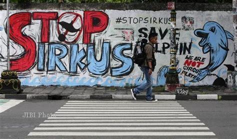 Sirkus Hukum bukti indonesia terbelakang masalah perlindungan satwa