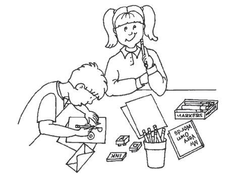 imagenes de niños trabajando matematicas para colorear banco de imagenes y fotos gratis dibujos dia del