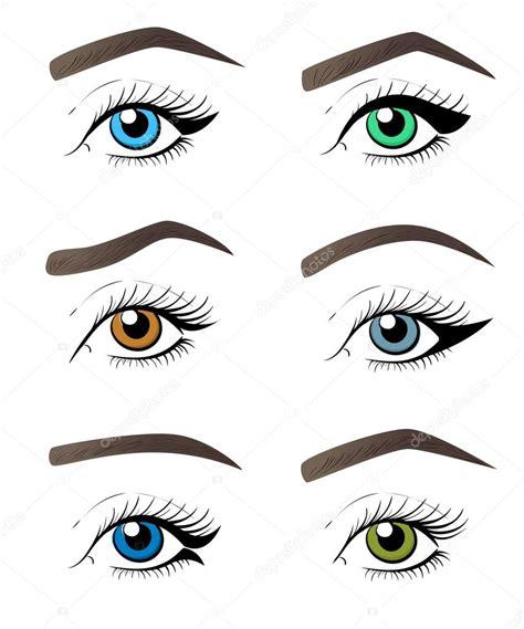 tutorial vector eye make up vector tutorial illustration concept for