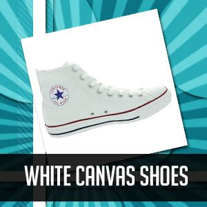 helpful tips in keeping your white canvas shoes pristine
