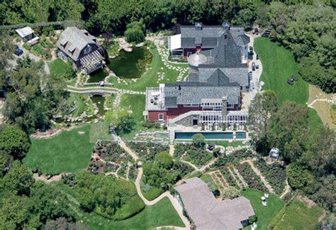 barbra streisand 100 million dollar homes star map la