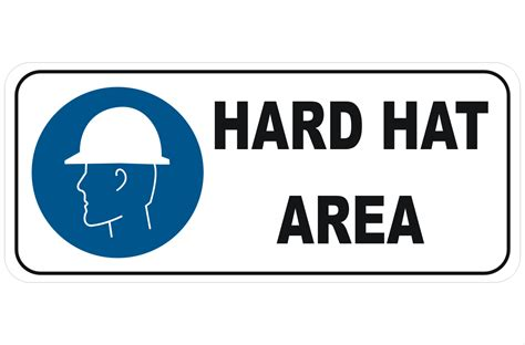 printable hard hat area sign hard hat area related keywords hard hat area long tail