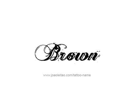 brown names 300 x