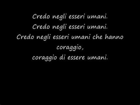testo canzone mengoni esseri umani marco mengoni testo
