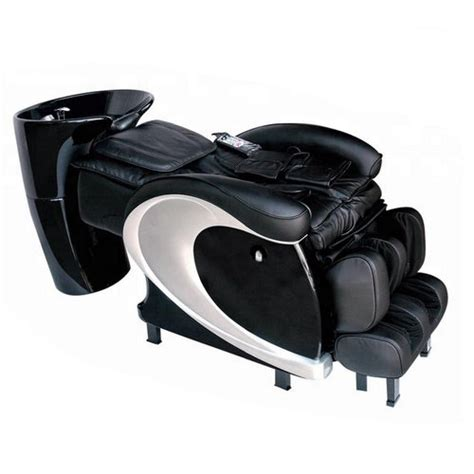 luxury reclining bed  washing electric massage hair washing salon shampoo chair