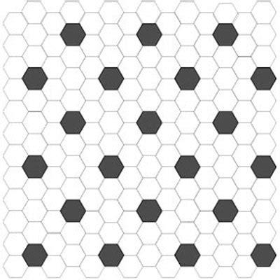 hex pattern vinyl flooring tiling over existing porcelain tiling contractor talk
